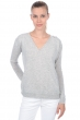 cachemire pull femme col v jewel flanelle chine m