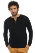 cachemire pull homme col rond xander noir l